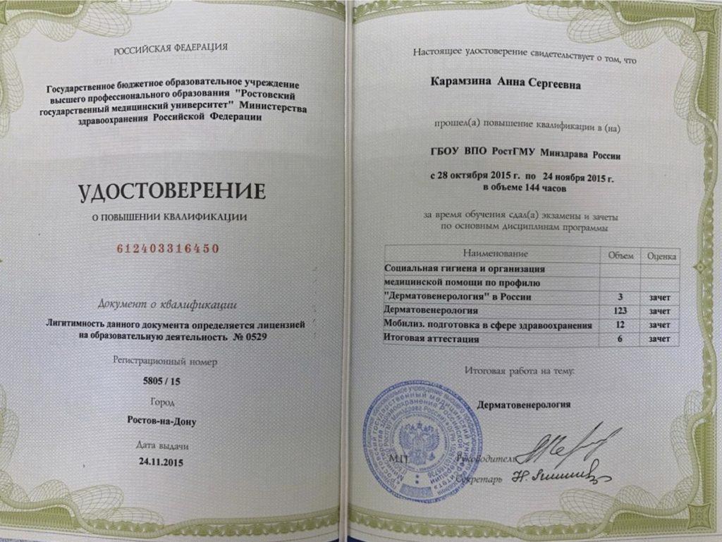 Карамзина Анна Сергеевна